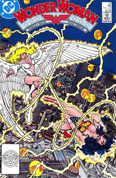 Cover for Wonder Woman (DC, 1987 series) #16