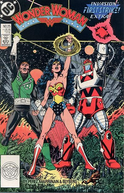 Cover for Wonder Woman (DC, 1987 series) #25