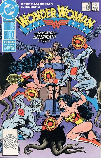 Cover for Wonder Woman (DC, 1987 series) #26