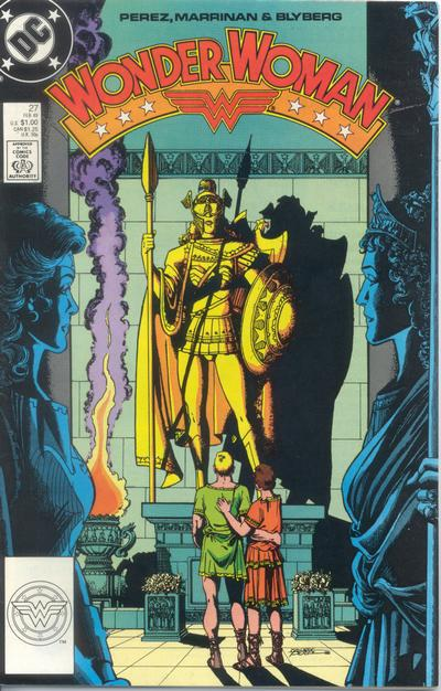 Cover for Wonder Woman (DC, 1987 series) #27