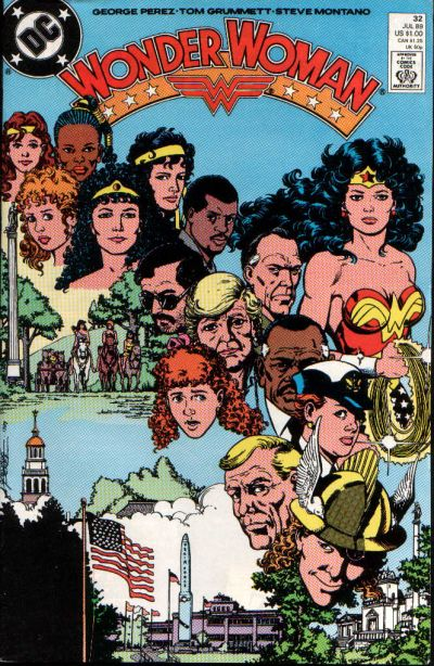 Cover for Wonder Woman (DC, 1987 series) #32