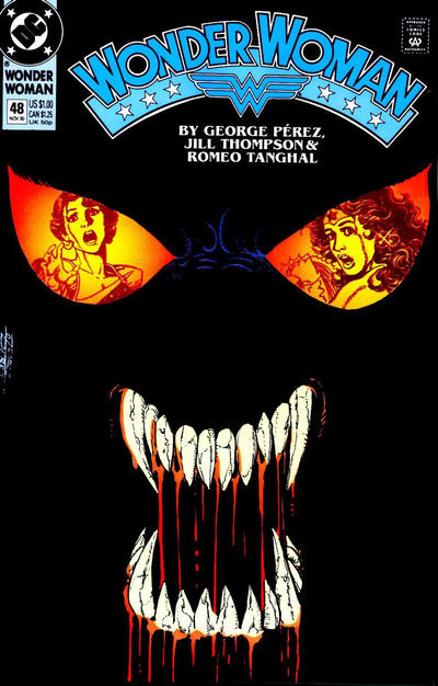 Cover for Wonder Woman (DC, 1987 series) #48 [Direct]