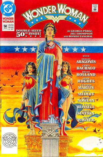Cover for Wonder Woman (DC, 1987 series) #50