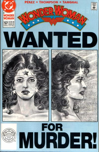 Cover for Wonder Woman (DC, 1987 series) #57