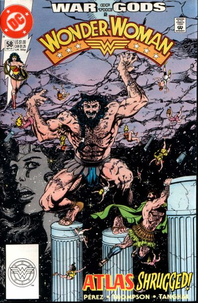 Cover for Wonder Woman (DC, 1987 series) #58