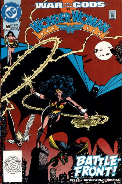 Cover for Wonder Woman (DC, 1987 series) #59