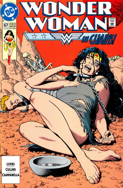 Cover for Wonder Woman (DC, 1987 series) #67 [Direct]