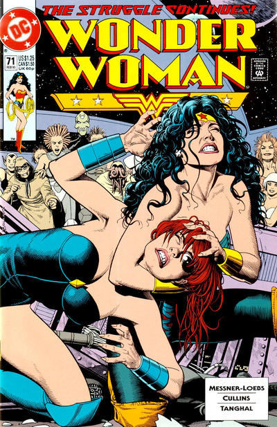 Cover for Wonder Woman (DC, 1987 series) #71