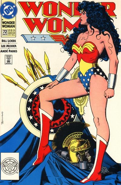 Cover for Wonder Woman (DC, 1987 series) #72 [Direct]