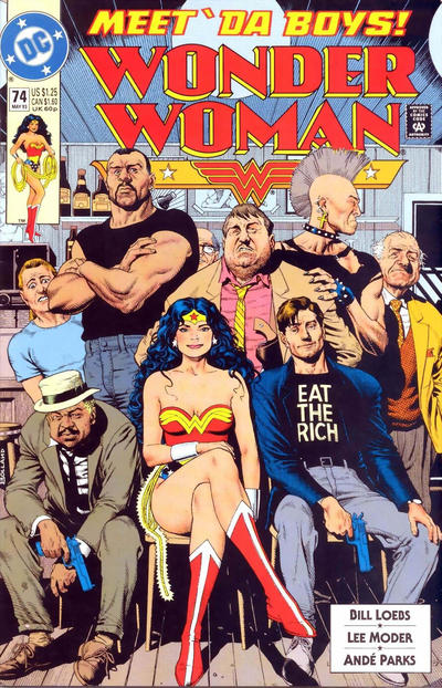 Cover for Wonder Woman (DC, 1987 series) #74