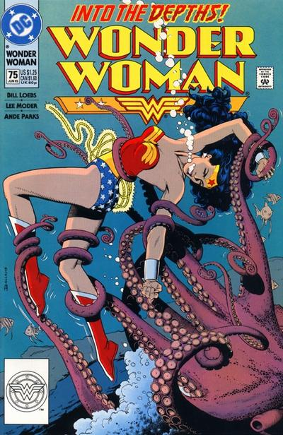 Cover for Wonder Woman (DC, 1987 series) #75