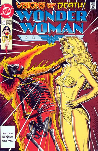 Cover for Wonder Woman (DC, 1987 series) #76 [Direct]