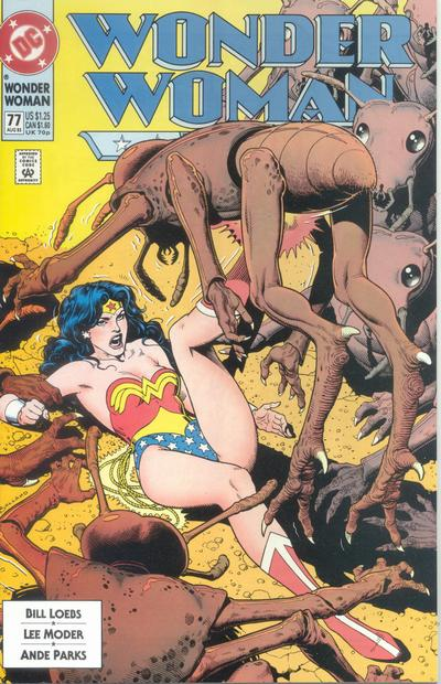 Cover for Wonder Woman (DC, 1987 series) #77 [Direct]