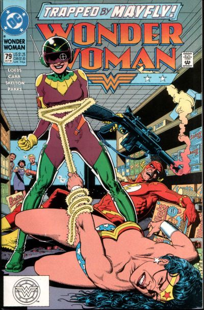 Cover for Wonder Woman (DC, 1987 series) #79 [Direct]