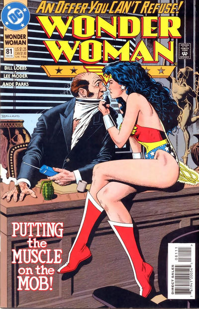Cover for Wonder Woman (DC, 1987 series) #81 [Direct Sales]