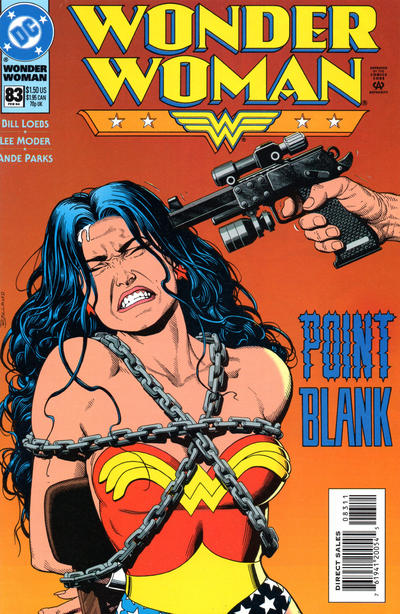 Cover for Wonder Woman (DC, 1987 series) #83 [Direct Edition]