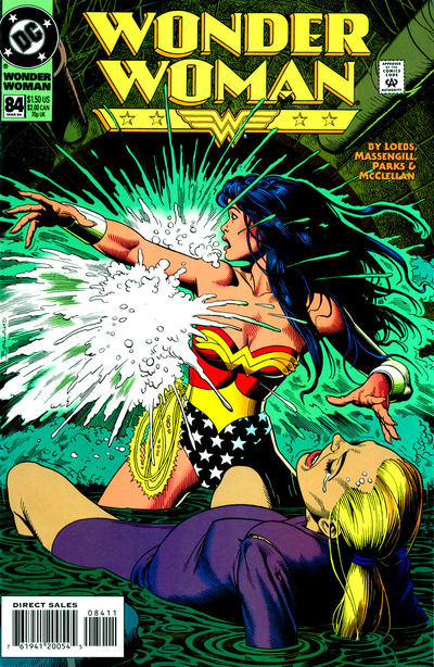 Cover for Wonder Woman (DC, 1987 series) #84