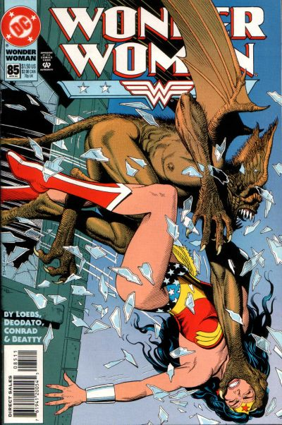 Cover for Wonder Woman (DC, 1987 series) #85 [Direct Sales]