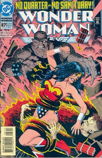 Cover for Wonder Woman (DC, 1987 series) #87