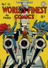 Cover for World's Finest Comics (DC, 1941 series) #7