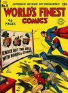 Cover for World's Finest Comics (DC, 1941 series) #9