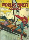 Cover for World's Finest Comics (DC, 1941 series) #12
