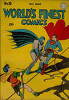 Cover for World's Finest Comics (DC, 1941 series) #19
