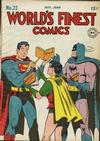 Cover for World's Finest Comics (DC, 1941 series) #22
