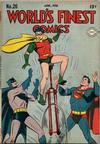 Cover for World's Finest Comics (DC, 1941 series) #26
