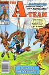 Cover for The A-Team (Marvel, 1984 series) #3 [Newsstand Edition]