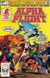 Cover for Alpha Flight (Marvel, 1983 series) #1 [Direct]