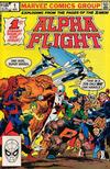 Cover Thumbnail for Alpha Flight (1983 series) #1 [Direct Edition]