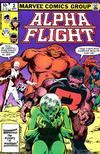 Cover for Alpha Flight (Marvel, 1983 series) #2 [Direct]