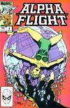 Cover for Alpha Flight (Marvel, 1983 series) #4 [Direct]