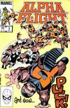 Cover for Alpha Flight (Marvel, 1983 series) #5 [Direct]