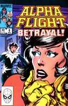 Cover for Alpha Flight (Marvel, 1983 series) #8 [Direct]