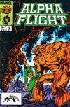 Cover for Alpha Flight (Marvel, 1983 series) #9 [Direct]