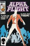 Cover for Alpha Flight (Marvel, 1983 series) #11 [Direct]