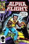 Cover for Alpha Flight (Marvel, 1983 series) #13 [Direct]