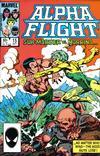 Cover for Alpha Flight (Marvel, 1983 series) #15 [Direct]