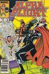 Cover for Alpha Flight (Marvel, 1983 series) #16 [Newsstand]