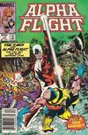 Cover Thumbnail for Alpha Flight (1983 series) #17 [Newsstand Edition]