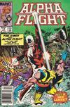 Cover for Alpha Flight (Marvel, 1983 series) #17 [Newsstand]
