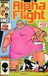 Cover Thumbnail for Alpha Flight (1983 series) #22 [Direct Edition]