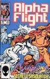 Cover Thumbnail for Alpha Flight (1983 series) #23 [Direct Edition]