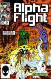 Cover Thumbnail for Alpha Flight (1983 series) #24 [Direct Edition]