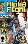 Cover Thumbnail for Alpha Flight (1983 series) #26 [Direct Edition]