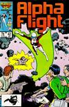 Cover Thumbnail for Alpha Flight (1983 series) #42 [Direct Edition]