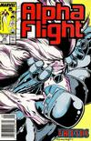 Cover for Alpha Flight (Marvel, 1983 series) #46 [Newsstand Edition]