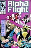 Cover for Alpha Flight (Marvel, 1983 series) #52